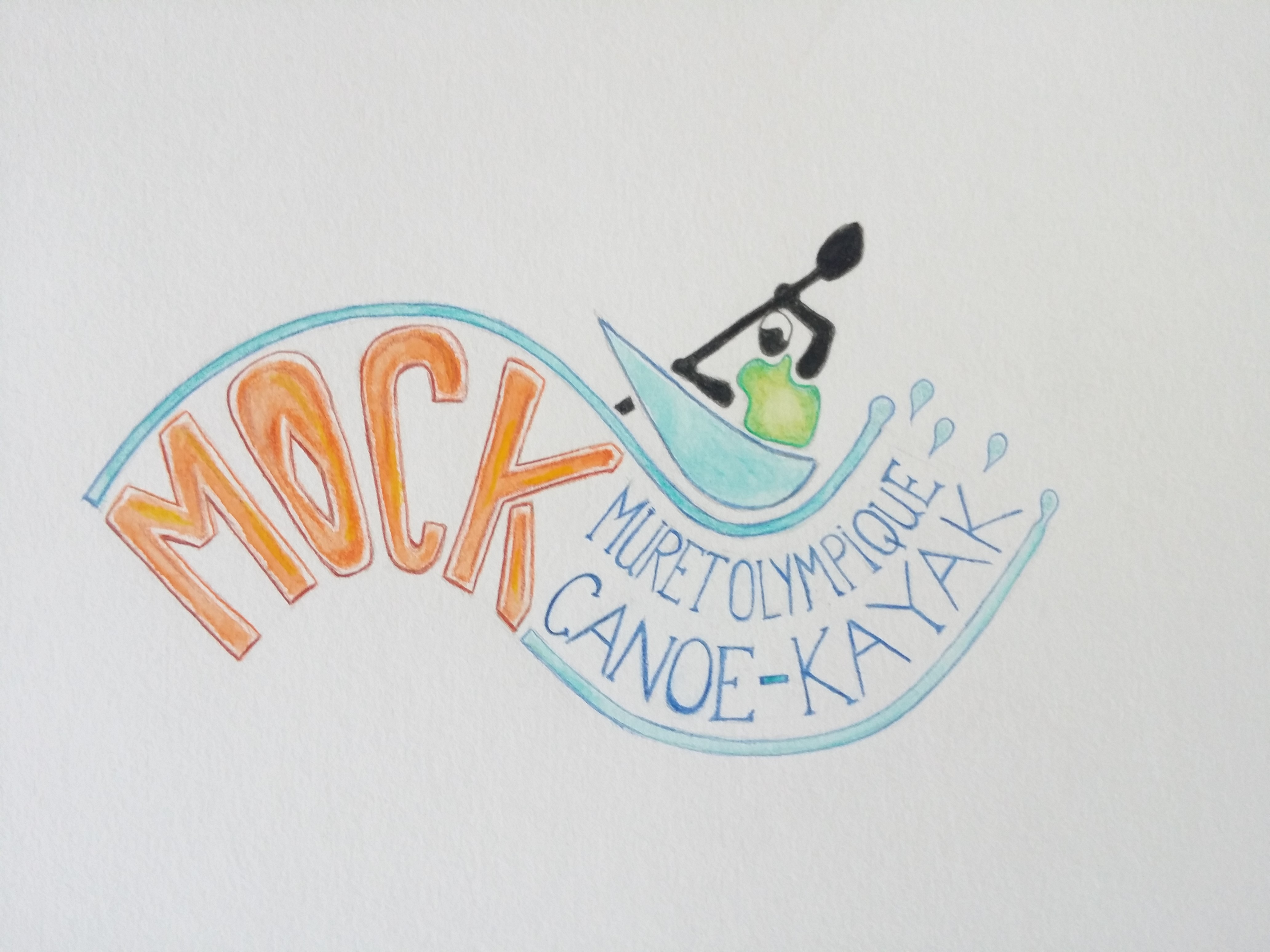 Muret olympique canoë-kayak